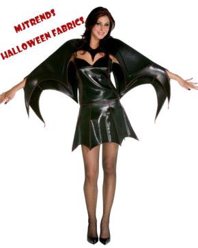 MJTrends: Halloween fabrics for bat girls